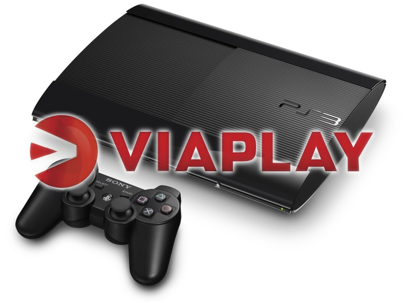 PS3 ViaPlay
