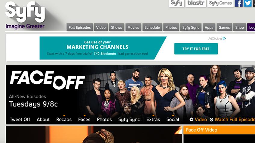 Sådan ser du SyFy.com i Danmark