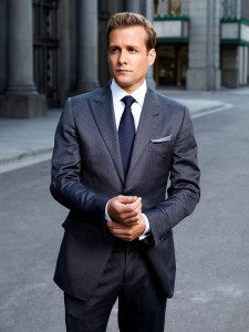 Harvey Specter i et Tom Ford suit